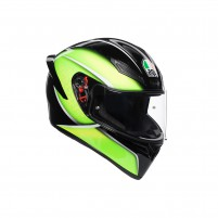 Casco Integrale- AGV K1 MULTI QUALIFY NERO/LIME