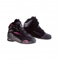 Scarpa Racing- Ixon BULL WP LADY nero-fucsia