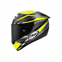 Casco Integrale- SUOMY CASCO SR-GP ON BOARD GRIGIO/GIALLO FLUO OPACO