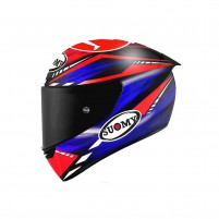 Casco Integrale- SUOMY CASCO SR-GP ON BOARD BLU/ROSSO FLUO