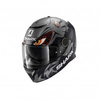 Casco Integrale- SHARK HELMETS SPARTAN REPLICA LORENZO GP MAT Antracite-Nero