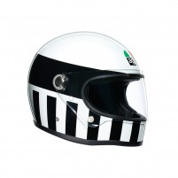 Casco Integrale, AGV X3000 MULTI INVICTUS WHITE/BLACK
