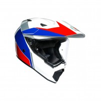 Casco Integrale, AGV AX9 MPLK MULTI ATLANTE WHITE/BLUE/RED