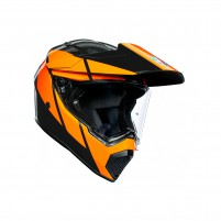 Casco Integrale, AGV AX9 MPLK MULTI TRAIL GUNMETAL/ORANGE