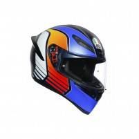 Casco Integrale, AGV K1 MULTI POWER MATT DARK BLUE/ORANGE/WH