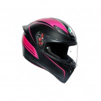 Casco Integrale, AGV K1 MULTI WARMUP BLACK/PINK