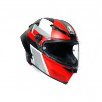 Casco Integrale, AGV PISTA GP RR MPLK MULTI COMPETIZIONE CARBON/WHITE/RED
