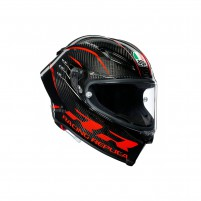 Casco Integrale, AGV PISTA GP RR MPLK MULTI PERFORMANCE CARBON/RED