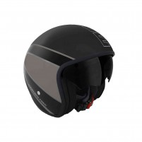 Casco Jet - Demi Jet, Momo Design RAPTOR BLACK MATT