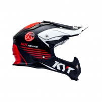 Casco Cross - Enduro- KYT BY SUOMY CASCO KYT STRIKE EAGLE K-MX NERO/ROSSO