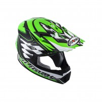 Casco Cross - Enduro- SUOMY CASCO RUMBLE STROKES VERDE