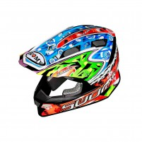 Casco Cross - Enduro- SUOMY CASCO ALPHA WARRIOR