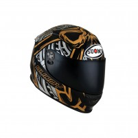 Casco Integrale- SUOMY CASCO SR-SPORT CROSSBONES ORO