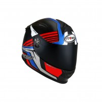 Casco Integrale- SUOMY CASCO SR-SPORT ATTRACTION BLU/ROSSO