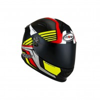Casco Integrale- SUOMY CASCO SR-SPORT ATTRACTION ROSSO/GIALLO
