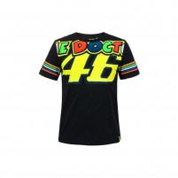 T-Shirt, VR46 T-SHIRT MAN BLACK