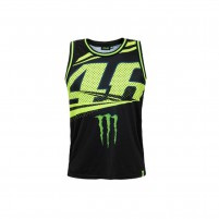 T-Shirt, VR46 TANK TOP MAN BLACK