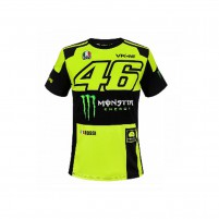 T-Shirt, VR46 T-SHIRT MAN FLUO YELLOW