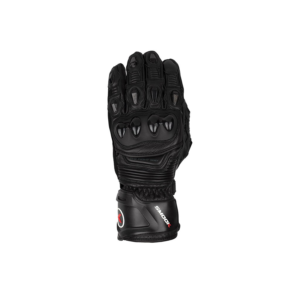 Guanti moto, GL-90345 SMOOK CE GLOVES NERO/NERO