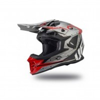 Casco Cross - Enduro- Ufo Plast INTREPID GREY RED