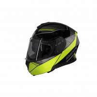CASCO MODULARE- SMOOK H-FLIP UP NERO-GIALLO