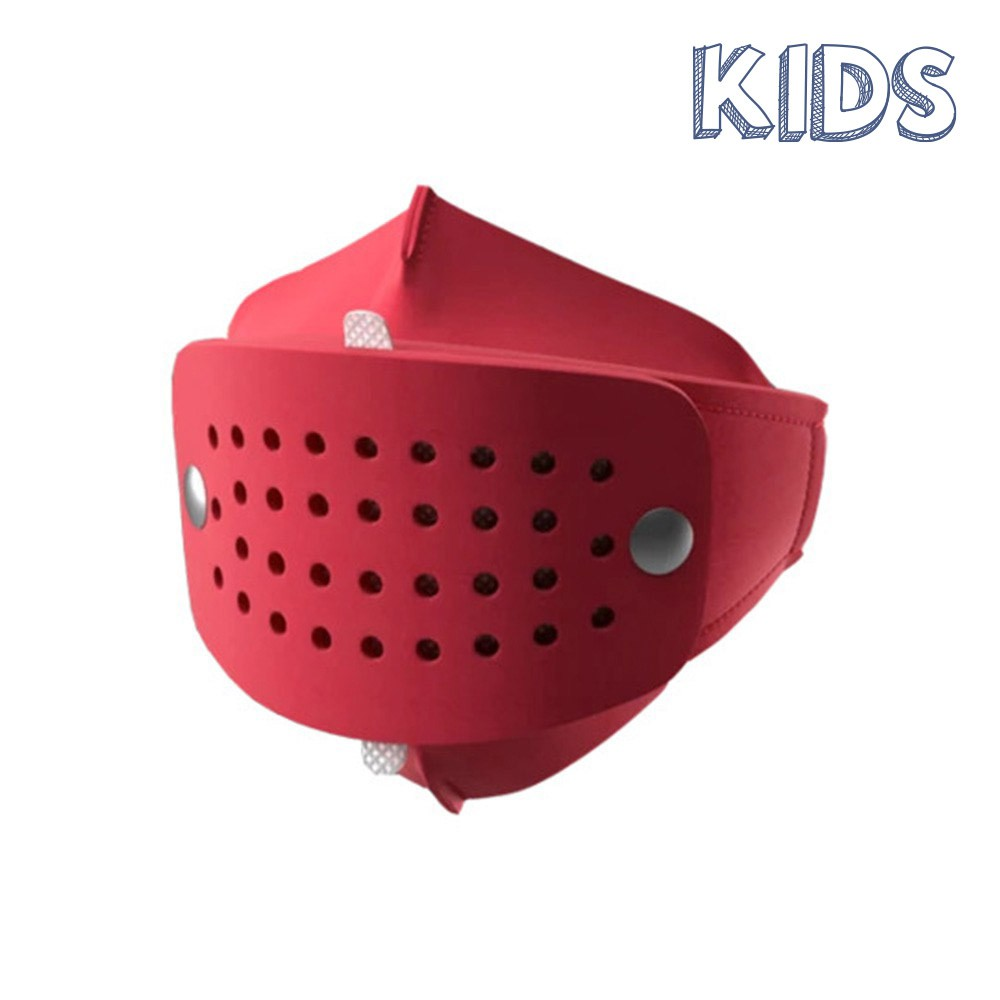 Mascherine- HOLLY HOLLY MASK KID ROSSO