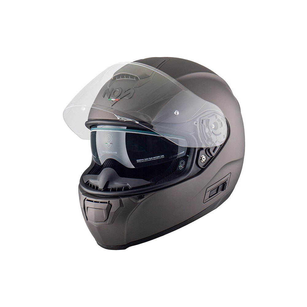 Casco Integrale- NOS NS-6 FULL FACE TITANIUM MATT