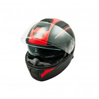 Casco Modulare- NOS NS-8 FLIP UP TRITON RED MATT