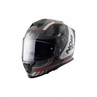 Casco Integrale- NOS NS-10 FULL FACE MIG RED
