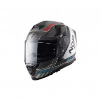 Casco Integrale- NOS NS-10 FULL FACE MIG RED/BLUE