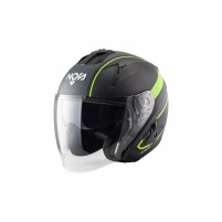 Casco Jet - Demi Jet- NOS NS-2 JET STING YELLOW MATT