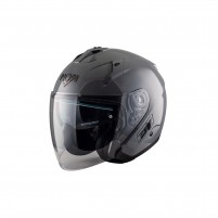 Casco Jet - Demi Jet- NOS NS-2 JET SEAL GREY