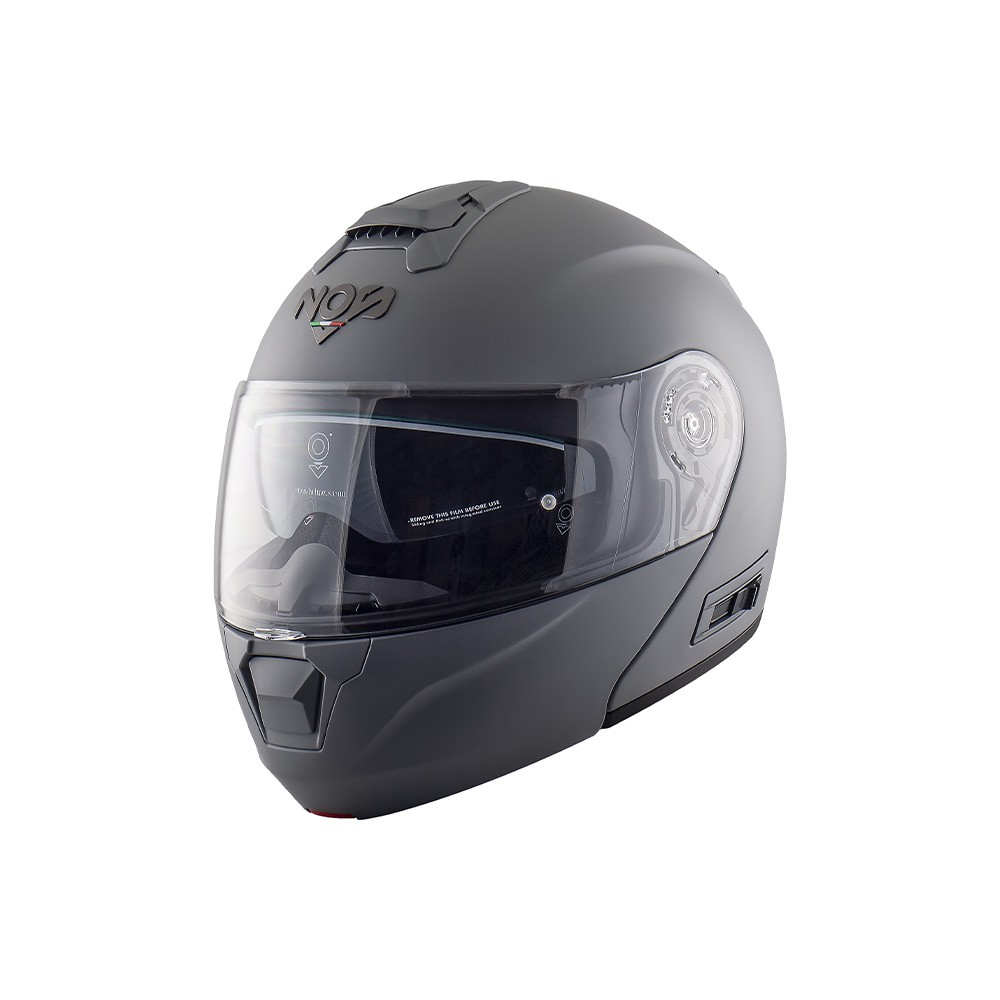 Casco Jet - Demi Jet- NOS NS-2 JET SEAL GREY MATT