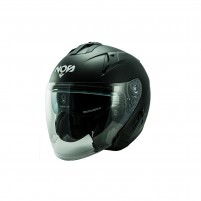 Casco Jet - Demi Jet- NOS NS-2 JET BLACK MATT