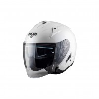 Casco Jet - Demi Jet- NOS NS-2 JET WHITE