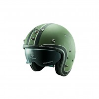 Casco Jet - Demi Jet- NOS NS-1F OPEN FACE ETOILE GREEN MATT