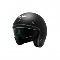 Casco Jet - Demi Jet- NOS NS-1F OPEN FACE BLACK MATT