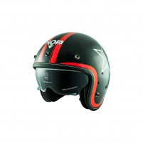 Casco Jet - Demi Jet- NOS NS-1F OPEN FACE ETOILE RED