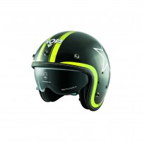 Casco Jet - Demi Jet- NOS NS-1F OPEN FACE ETOILE YELLOW