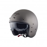 Casco Jet - Demi Jet- NOS NS-1 OPEN FACE TITANIUM MATT