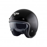 Casco Jet - Demi Jet- NOS NS-1 OPEN FACE BLACK
