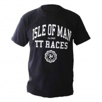 T-shirt Tourist Trophy Races nera